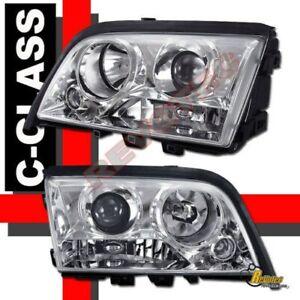 94-00 Mercedes Benz W202 C Class Sedan 4 Door Projector Headlights RH + LH