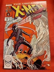 Uncanny X-Men #230- 1988 Chris Claremont, Marc Silvestri, VF!
