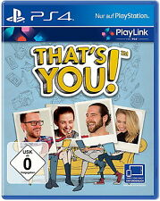 That's You (Sony PlayStation 4, 2017)