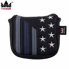 Stars & Stripes High-Moi Mallet Putter Head cover for TaylorMade Spider Tour Usa
