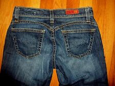 AG Adriano Goldschmied The Shorty Denim Cropped Cuffed Capri Jeans Size 25 R