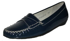 Sioux Selbia Patent Leather Shoes Size 3.5 SP £79.95