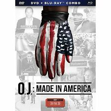 ESPN 30 for 30 O.J.:Made in America DVD and Bluray Combo O.J. Simpson & Espn
