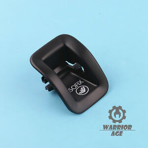 Black Rear Child Seat Safety Hook Cover 8T0887233B For Audi A4 B8 Allroad