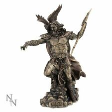 Zeus King of the Gods Statue Greek Mythology Figurine Bronzed Sculpture Ornament