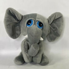 Original Peek-a-boo Elephant Baby Plush Toy Animal Gray Big Ears