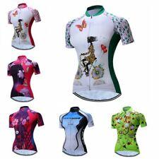 Women's Cycling Jersey Clothing Bicycle Sportswear Short Sleeve Bike Shirt Top