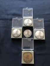 HANSI 5 Médailles 4 argent- 1 Bronze Exposition gastronomique Colmar ac 4 boites