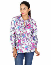 Unbranded Floral Wrap Tops for Women