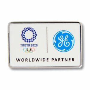Tokyo 2020 2021 Summer Olympics Sponsor Pin GE General Electric