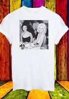 Jayne Mansfield Sophia Loren Looking Her Boobs Men Women Unisex T-shirt 331