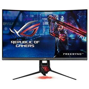 "ASUS 31.5"" Curved Gaming Monitor WQHD 1440p 144Hz DP HDMI Eye Care"