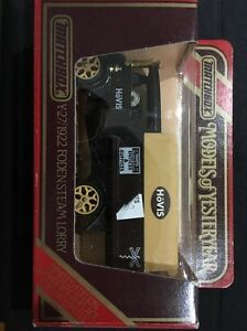 Matchbox- Models Of Yesteryear Limited Edition 1922 Foden Steam Lorry Y-27
