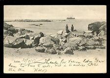 West Africa Gold Coast Ghana AXIM 1907 Paquebot u/b PPC