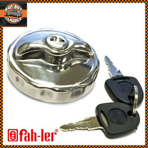 Jaguar XK140-150 POLISHED Stainless Steel Fuel Cap