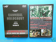 cannibal holocaust ruggero deodato riz ortolani francesca ciardi kerman rare dvd