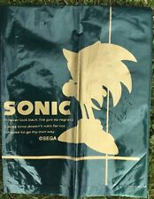 Japonais SEGA Sonic The Hedgehog en plastique vert sac porte-jeu