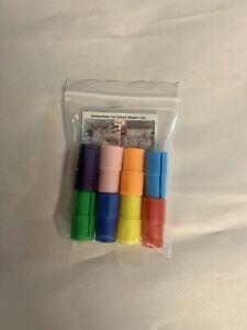 8 Pack Pen Adapter Holder Set Comp Cricut Sharpie BIC Crayola Explorer Air Air2