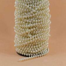5mm Pearl Bead String Trimming Corsages Bridal Wedding Table Decoration Craft