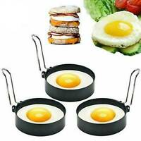 1Pc Stainless Steel Fried Non Stick Egg Ring Pancake Mould Cooking Kitchen Tools