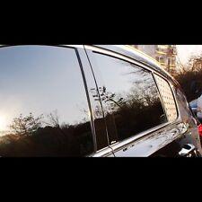 Black Door B Pillar Mirror Plate Molding For KIA All New Sportage QL 2016+