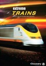 EXTREME TRAINS: BEST OF EXTREME MACHINES (DVD, 2DISC ) R-4, NEW, FREE POST