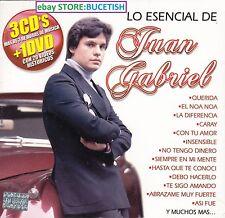 Juan Gabriel Lo Esencial 3CD'S+1DVD New Nuevo sealed Caja de Carton