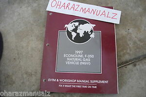 1997 FORD Econoline 250 Natural Gas Vehicle NGV Manual OEM