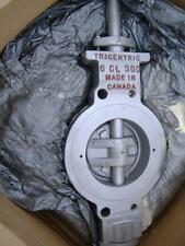 "NEW 6"" Tricentric 300 LB 316 Stainless Butterfly Valve"