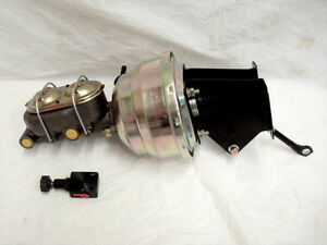 CJ Series Jeep Power Brake Booster Master Cylinder w/ Bonus Proportioning Valve