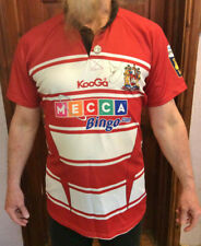 WIGAN RUGBY Shirt Size XL Tuson 29 Collectors Item AUTOGRAPHED 116