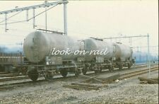 N1202 - Dia slide 35mm original Eisenbahn Holland, NS Kesselwagen, '80s