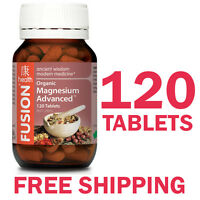 Fusion Health Magnesium Advanced 120 Tablets - Fusion Magnesium
