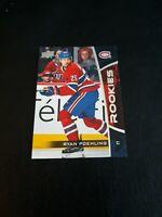 2019-20 Upper Deck NHL Rookies #23 Ryan Poehling Montreal Canadiens Hockey RC 🏒