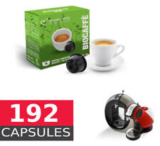 Organic Coffee  - Full box of 192  Capsules Dolce Gusto Compatible by Italian co
