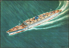 NAVE SHIP - T/N VENEZUELA - GRIMALDI - SIOSA LINES - 1950 ca.