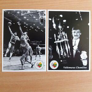 Basketball legends. Valdemaras Chomicius