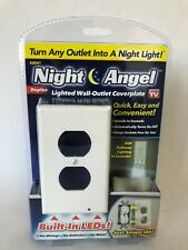 Night Angel ~ LED Lighted Wall-Outlet Coverplate