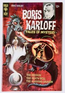 Boris Karloff Tales of Mystery #20 (Dec 1967, Western Publishing) FN