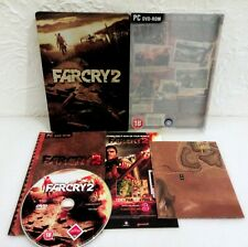FAR CRY 2 PC DVD-ROM STEELBOOK EDITION COMPLETE WITH MAP