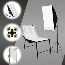 Photo Photography Studio Kit Lighting Softbox 50*70cm 4 in 1 E27 Socket Lamp