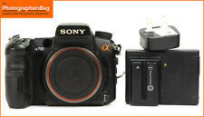 Sony ALPHA A700 Digital 12.2MP SLR Camera Corpo & Caricabatteria. GRATIS UK