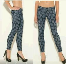 NEW Guess Power Skinny Floral-Print Jeans size 23