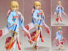 New Japan Anime Fate Stay Night Saber Kimono Ver. 1/7 Figure Figurine 25cm NoBox