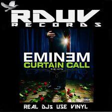 "EMINEM - CURTAIN CALL The Hits - 2 LP VINYL 12"" ALBUM - EU ORG '05 - Slim Shady"