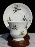 Signed Royal Windsor England's Fine Bone China  Tea Cup & Saucer