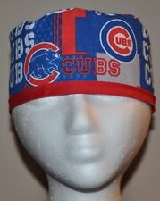 Newest Style!!! Men's MLB Chicago Cubs Scrub Cap/Hat - One Size Fits Most