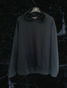 BNWT Boohoo Black Hooded Jumper Size 24