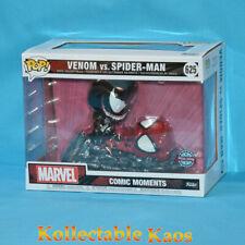Funko Pop Marvel Venom VS Spider-man #625 Comic Moments Vinyl Figure