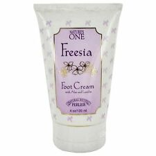Perlier Nature's One Freesia Foot Cream with Aloe and Lanolin, 4 oz